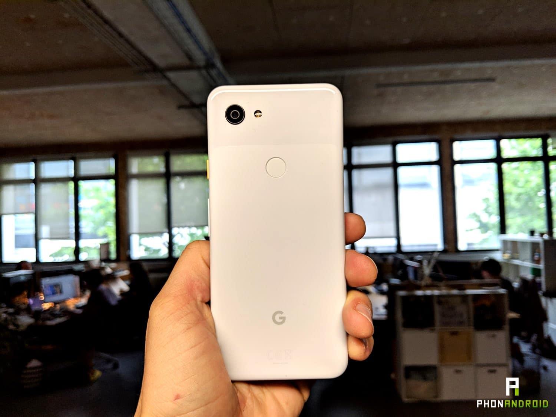 test google pixel 3a autonomie