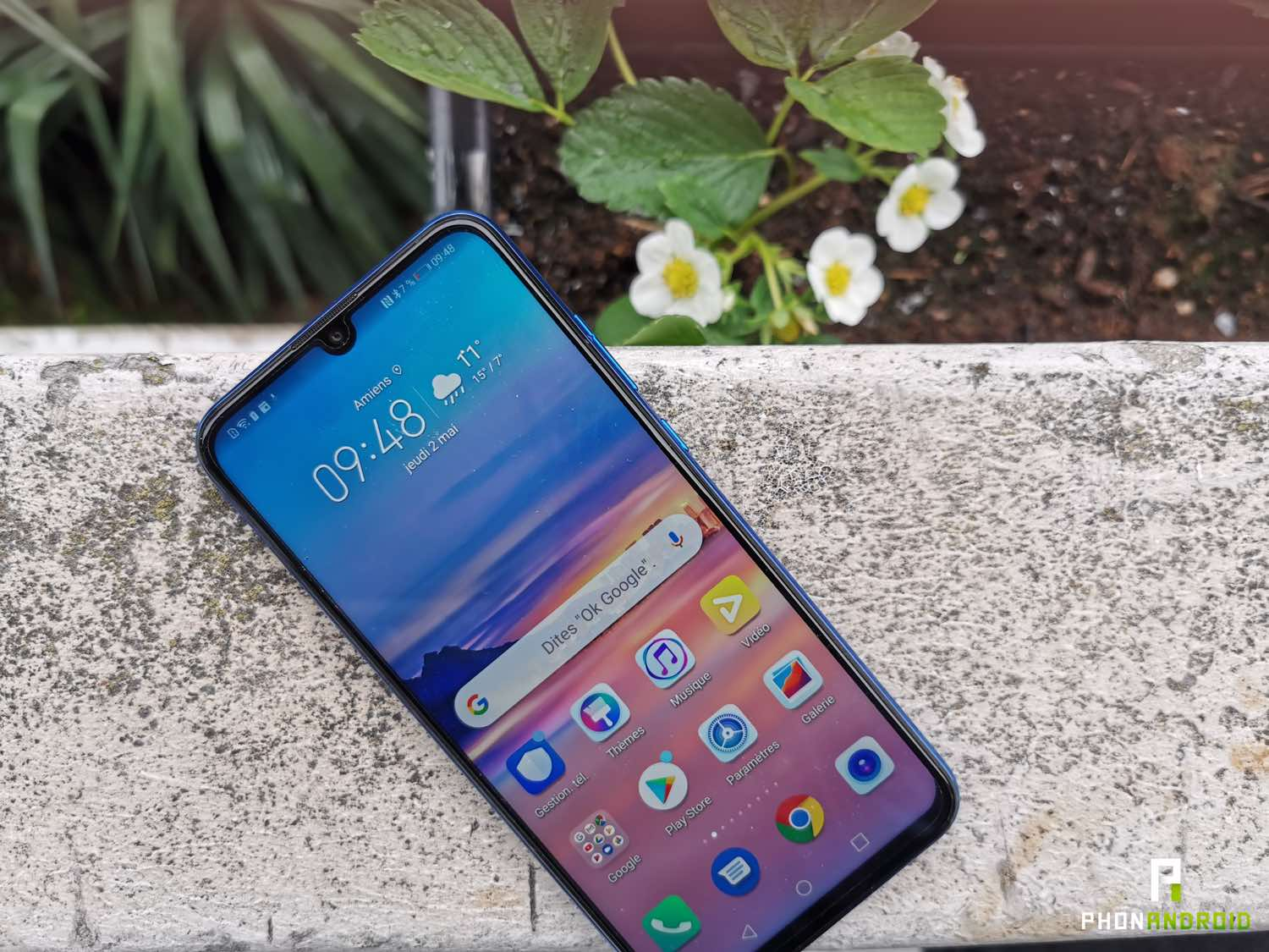 test honor 20 lite android