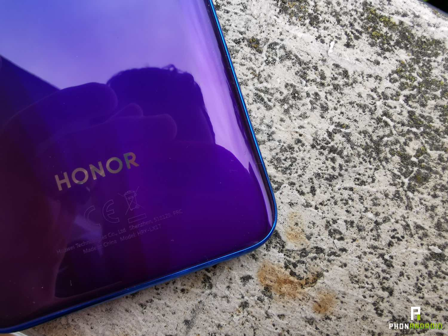 test honor 20 lite design finitions