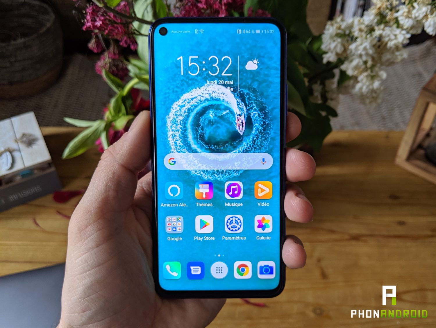 test honor 20 prix