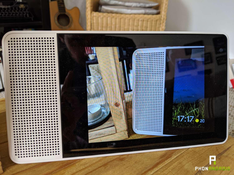 test lenovo smart display cadre numerique