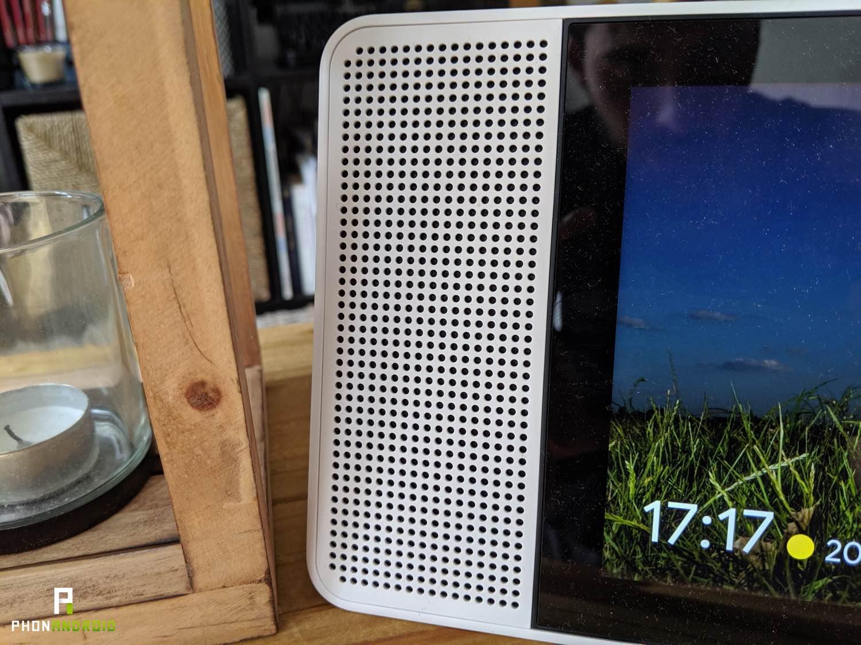 test lenovo smart display haut parleurs