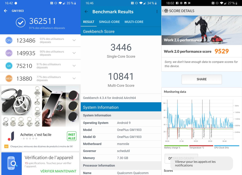 test oneplus 7 benchmarks