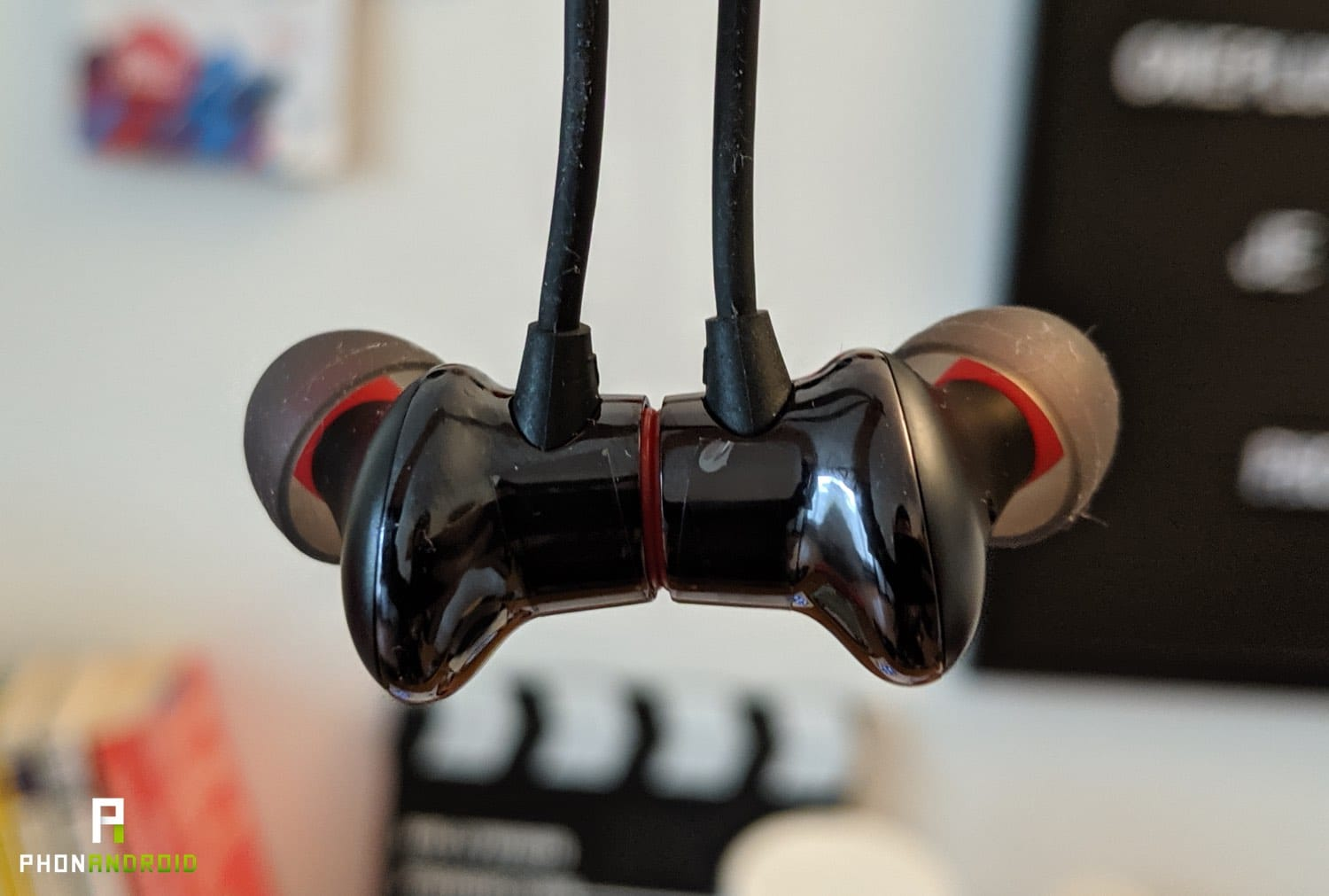 test oneplus bullets wireless 2 magnetic control