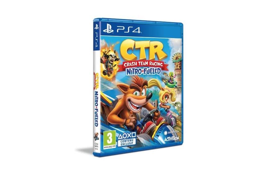 Crash Bandicoot Team Racing Nitro Fueled sur PS4 ou Xbox One à 29,99 € avec goodies offerts