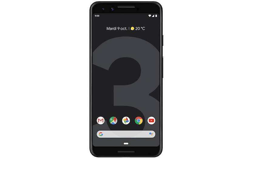 Google Pixel 3 Simplement noir 64 Go à 409€