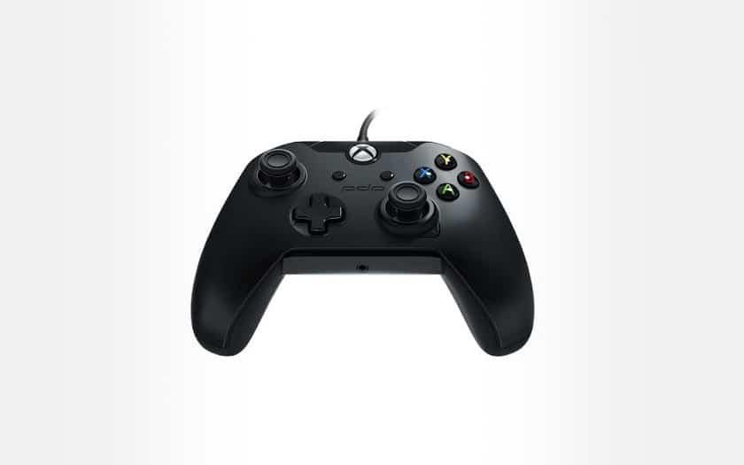 Manette-Xbox-One-et-PC-filaire-PDP-Noir-corbeau