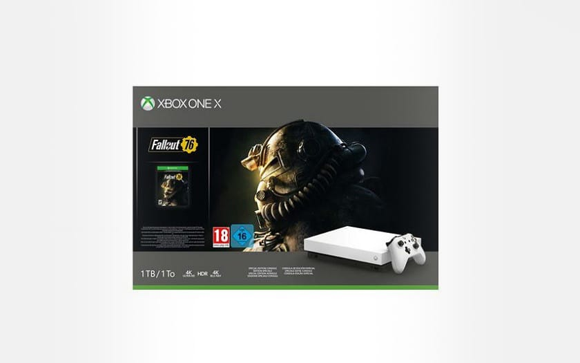 Pack-Console-Xbox-One-X-1-To-Edition-Limitee-Robot-White-Fallout-76