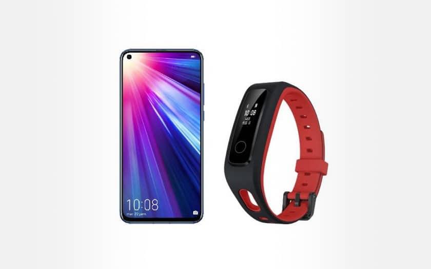 Honor View 20 et bracelet connecté Band 4 Running à 399€