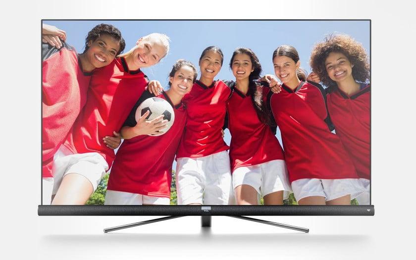 TV 4K 55 TCL 55DC760 avec barre de son JBL