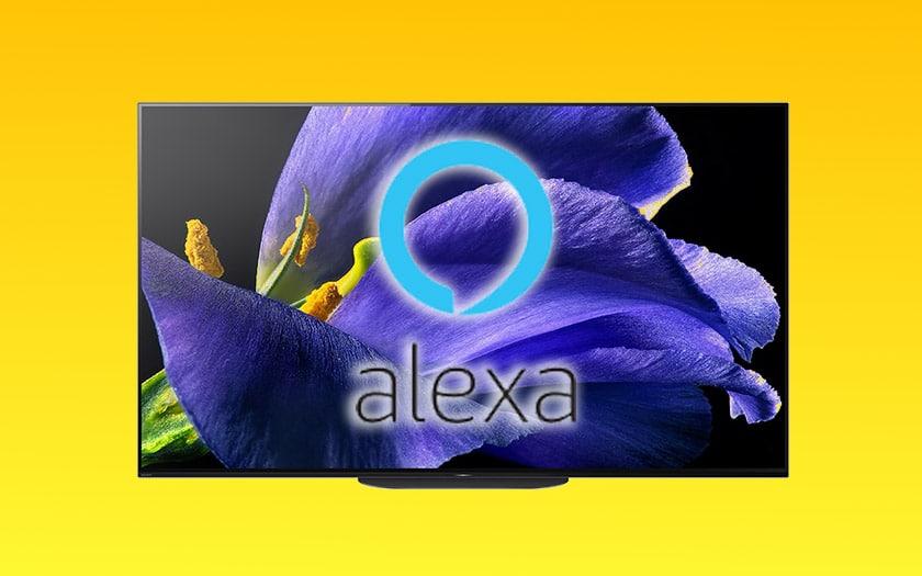 alexa contrôler tv sony modèles compatibles