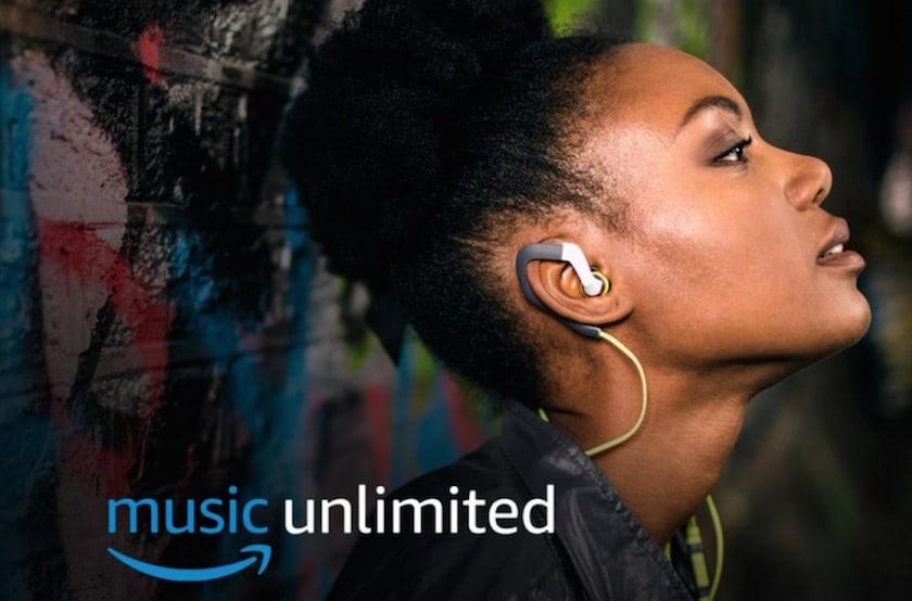 Amazon Music Unlimited pour 4 mois à 0,99€