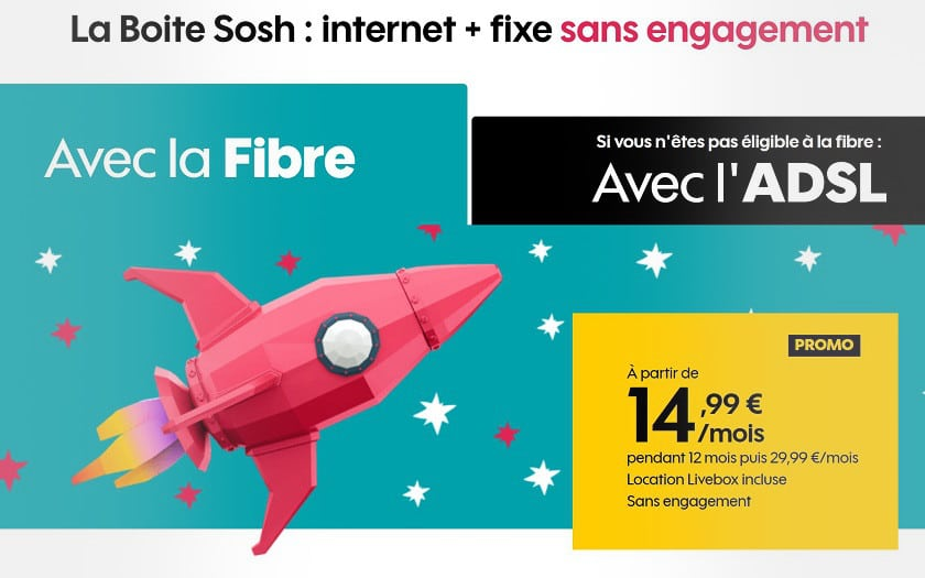 promo sosh internet fibre adsl