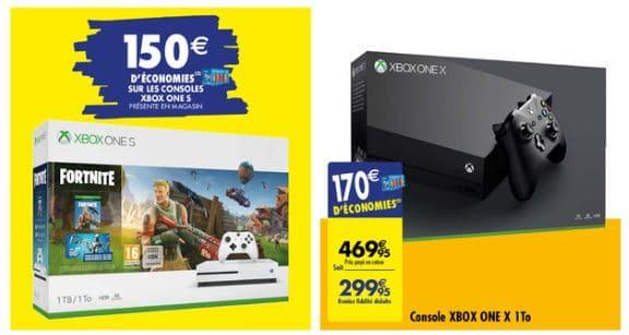 Promo Xbox One X à Carrefour