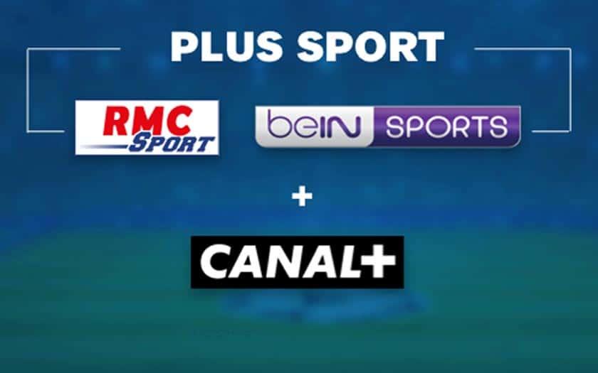 canal rmc sport bein sport