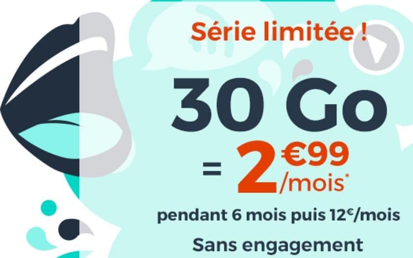 cdiscount mobile forfait 30 Go