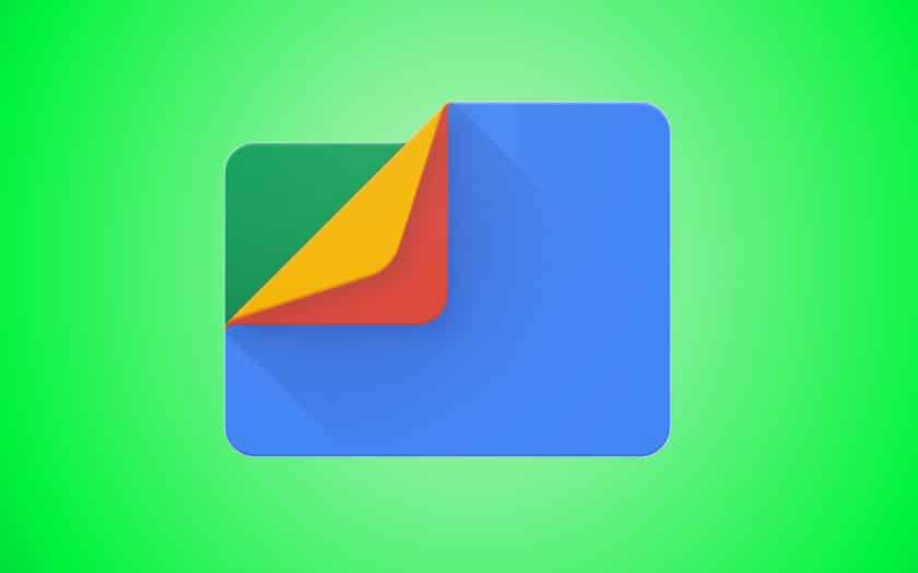 files by google beta mode sombre apk