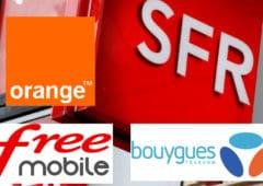 free mobile orange sfr bouygues panne