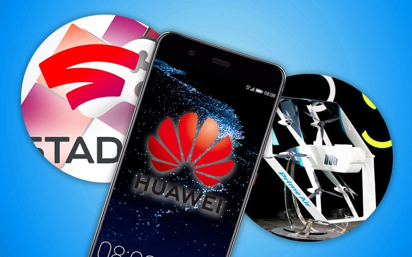 huawei deploie android pie google stadia amazon prime air