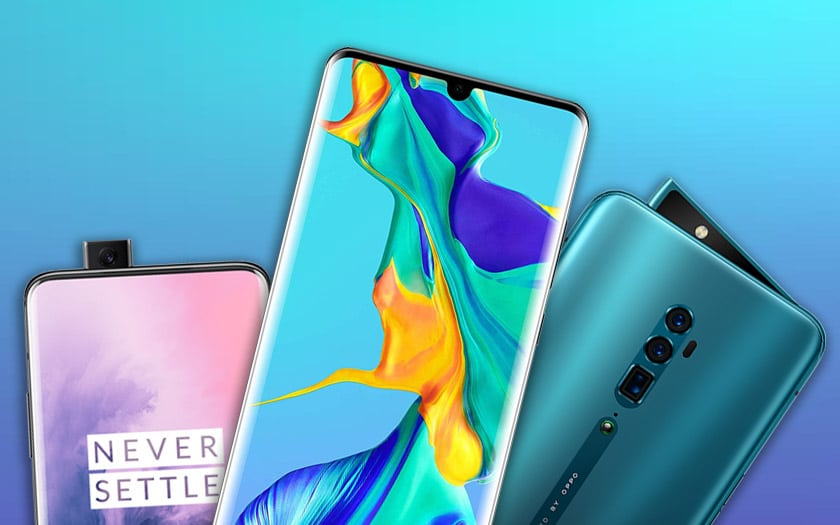 huawei oppo oneplus comparatif recharge rapide
