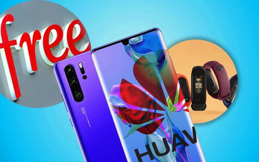 Huawei crée un OS plus rapide qu'Android, Free Mobile complique les résiliations, Xiaomi présente le Mi Band 4, le récap