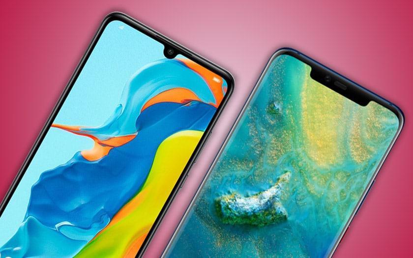 huawei ralenti production smartphones