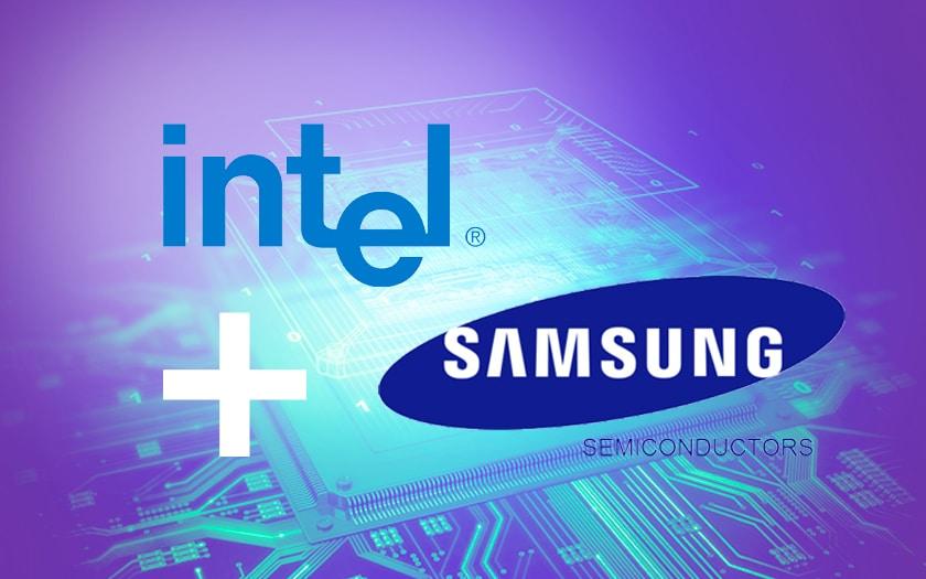 Intel Samsung semiconductor