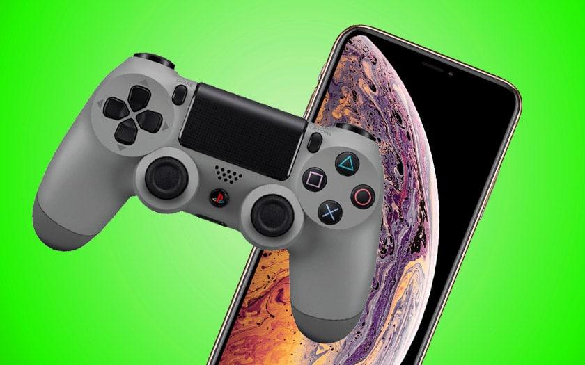 ios 13 jeux ps4 iphone dualshock