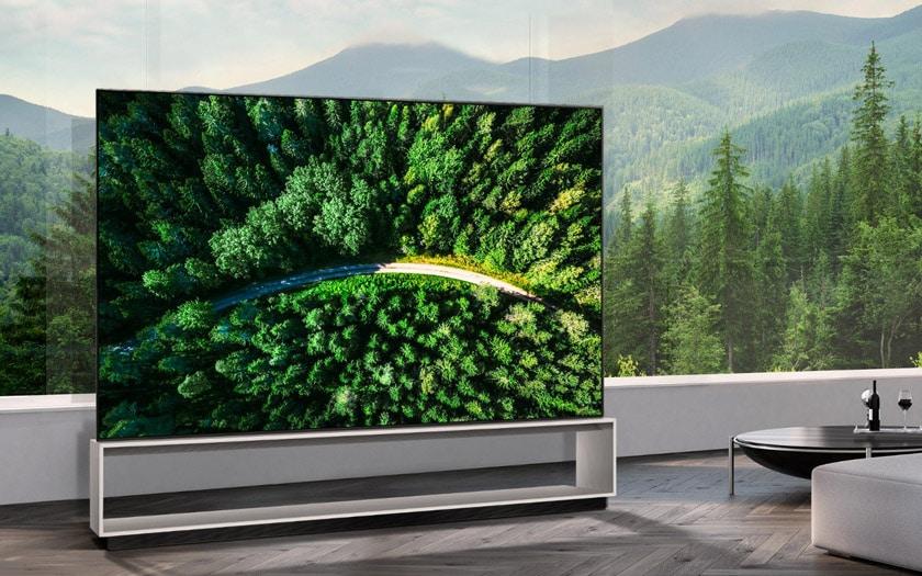 lg tv 8k oled 88 pouces prix 35000 euros