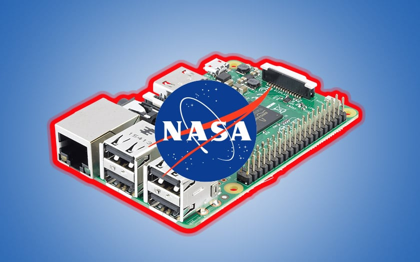 nasa piratée raspberry pi