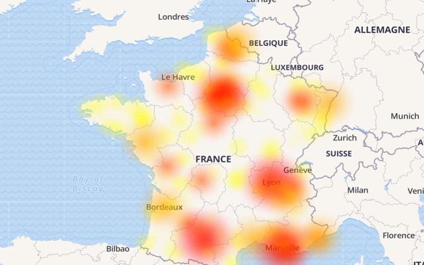 Panne SFR et Orange : impossible de passer des appels sur le réseau des deux opérateurs