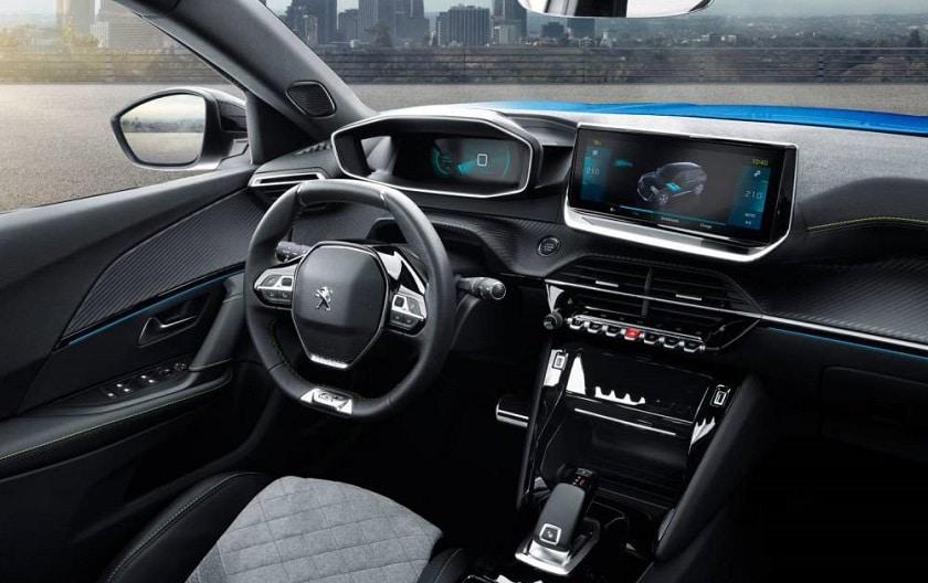 Peugeot e-2008 intérieur