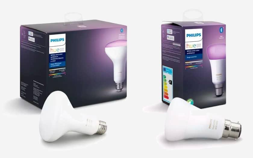 philips hue les ampoules sont d sormais bluetooth plus. Black Bedroom Furniture Sets. Home Design Ideas
