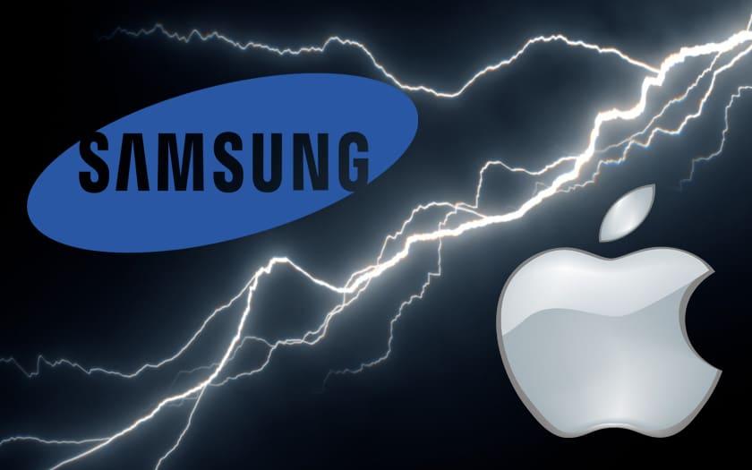 samsung apple iphone ecran