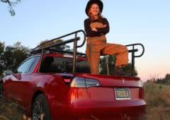 tesla model 3 pick up électrique truckla