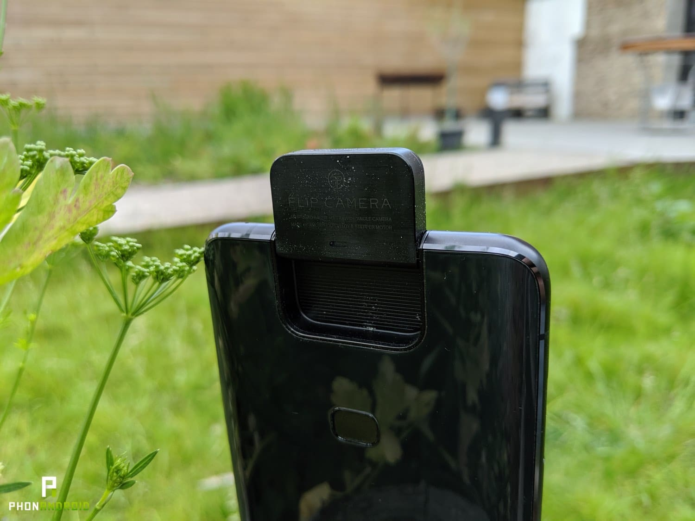 test asus zenfone 6 flip camera arriere