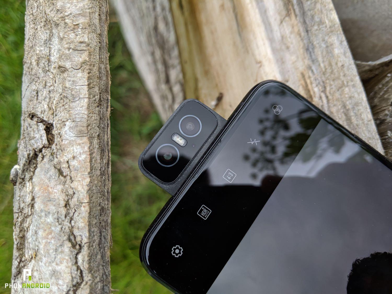 test asus zenfone 6 flip camera ouverte