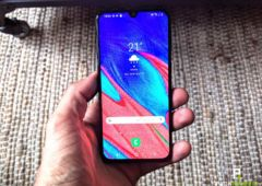 test samsung galaxy a40 interface