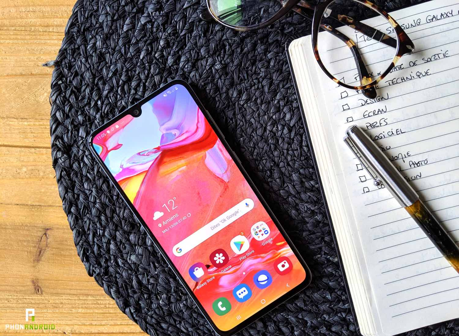 test samsung galaxy a70