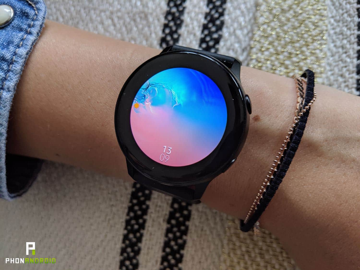 test samsung galaxy watch active femme