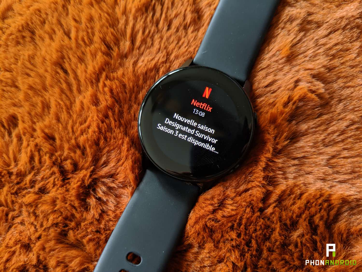test samsung galaxy watch active notifications