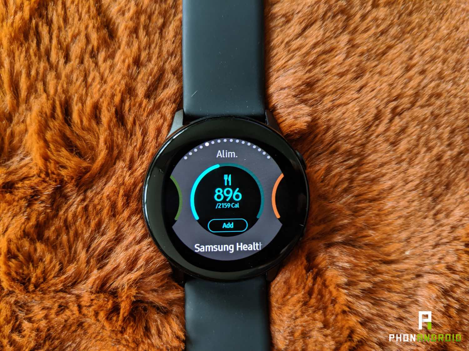 test samsung galaxy watch active widgets