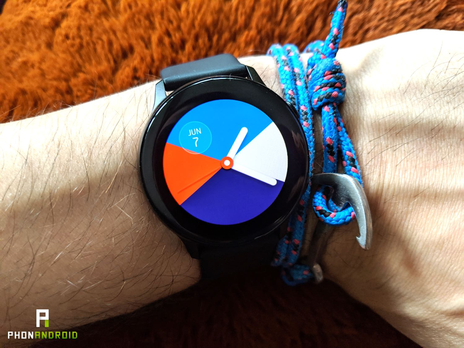 test samsung galaxy watch active