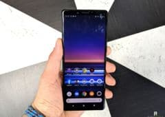 test sony xperia 1 interface