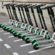 trottinettes électriques paris interdit stationnement trottoirs