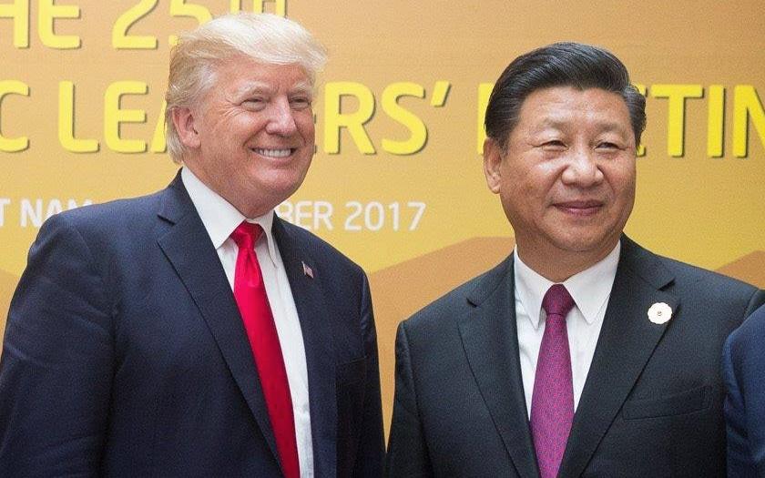 trump xinping