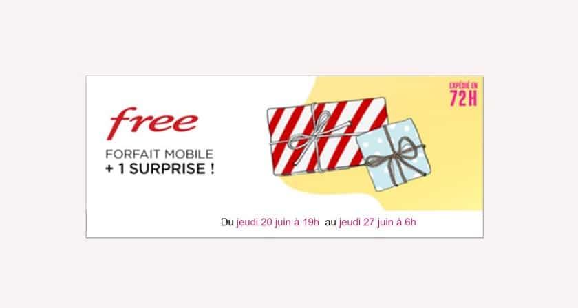 vente privee free mobile juin 2019
