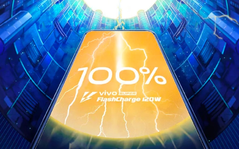 vivo super flashcharge 120W