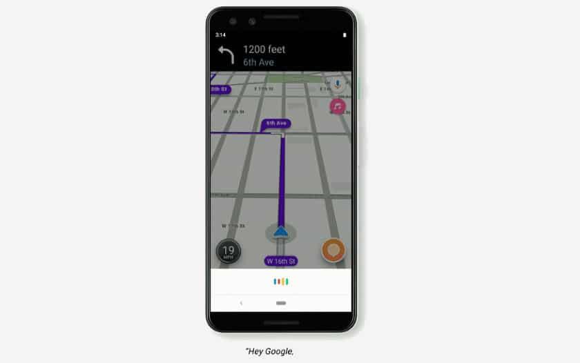 Waze est désormais compatible avec Google Assistant