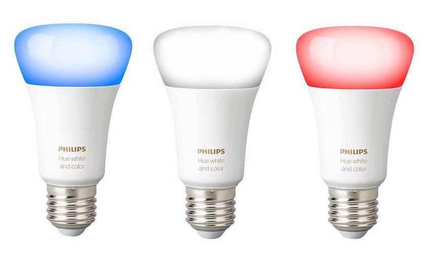 3 ampoules connectées White and Color E27 Philips Hue à 79,90€